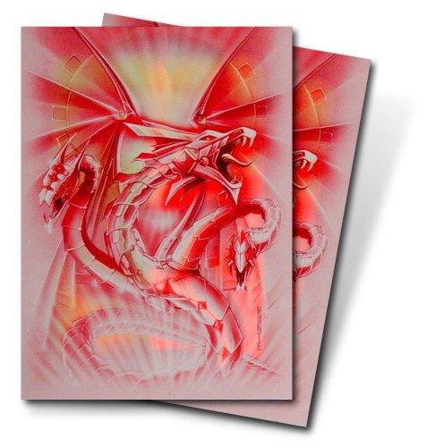 Ultra Pro Deck Protector Red Diamond Dragon (Monte)(sm(82113 - Sammelkartenzubehör Jap. Größe