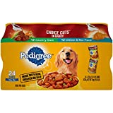 PEDIGREE CHOICE CUTS IN GRAVY Adult Canned Wet Dog Food Variety Pack,...