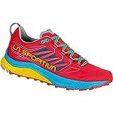 LA SPORTIVA Jackal Woman, Zapatillas de Trail Running Mujer, Hibiscus/Malibu Blue, 40 EU
