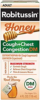 Robitussin Maximum Strength Cough Medicine,4 Fl Oz Bottle