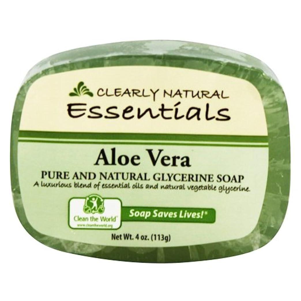 閉じるアスペクトコマースClearly Natural - グリセリン石鹸アロエベラ - 4ポンド
