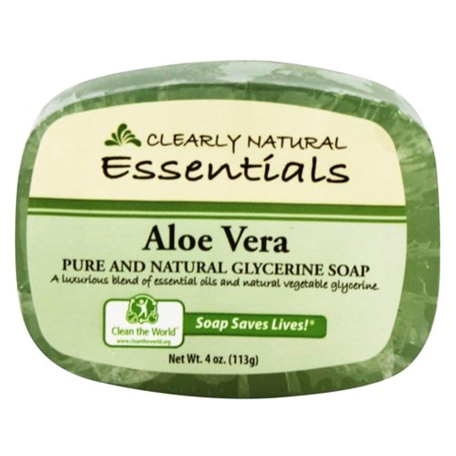 爆弾テンポ困惑したClearly Natural - グリセリン石鹸アロエベラ - 4ポンド