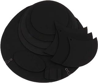 KESOTO ドラムミュートパッド ハイハット シンバルミュート 練習パッド