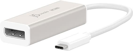 j5create USB Type-C to 4k DisplayPort Adapter JCA140 Compatible MacBook Pro/MacBook/Chromebook/Computers with USB-C Port