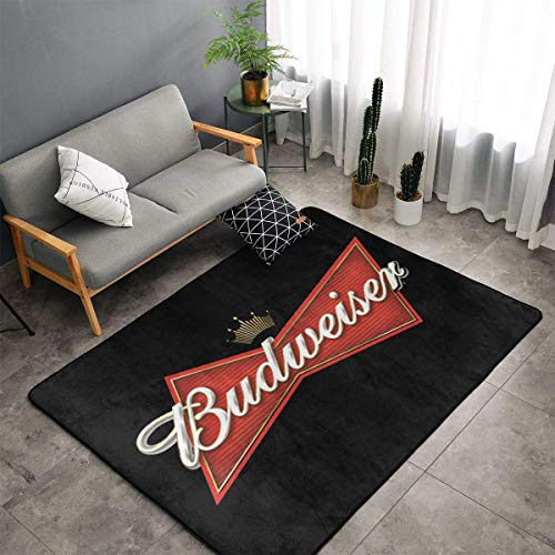Budw-eiser Bedroom Kitchen Floor Mats Home Decor Non-Slip Floor Pad Rugs Yoga Mat Throw Rugs Carpet, 60 X 39 Inch