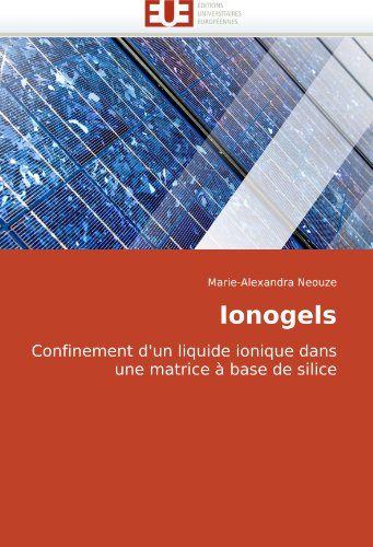 Ionogels: Confinement d'un liquide ionique dans une matrice à base de silice