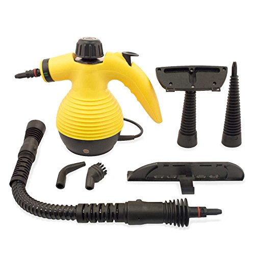 Best Handheld Steam Cleaner Multi-Purpose 1050 Watt Portable Household Car Cleaning House Really Come and try our Multi-functional Domestic Use High-Pressure Steam Cleaning Machine Home Yellow 350 ml