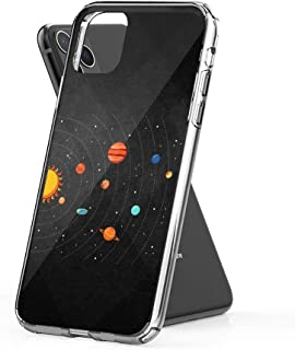 Case Phone Flat Earth Believers Solar System View (6.5-inch Diagonal Compatible with iPhone 11 Pro Max)