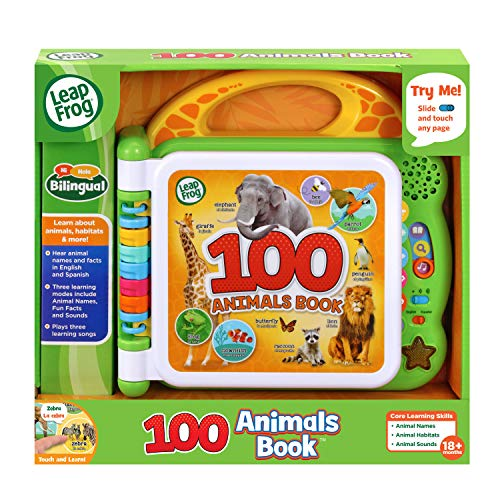 LeapFrog 100 Animals Book, Green