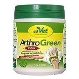 cdVet ArthroGreen Plus 330g - natürliche und effektive Nahrungsergänzung zur Unterstützung der Gelenke für Hund und für Katze durch Vitamine und Mineralien