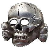ZPP WW2 German Badge Honor War Medals Army Elite Officer Hat Cap Cockade Skull Old Badge Brooch Collar Pin Repro