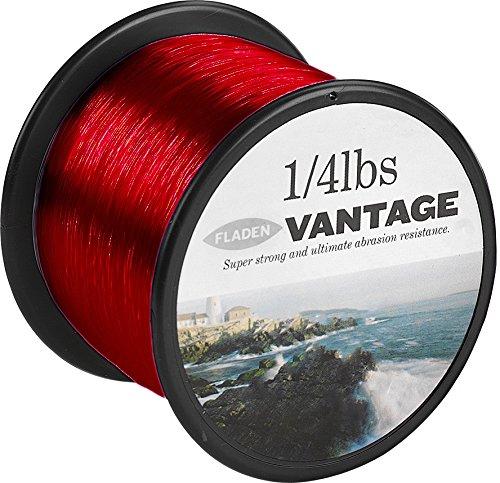 Fladen Vantage Pro - rollo de cuerda monofilamento para carretes de pesca, extra fuerte (rojo), rojo, 15lb / 6.4kg to 0.35mm (952m)