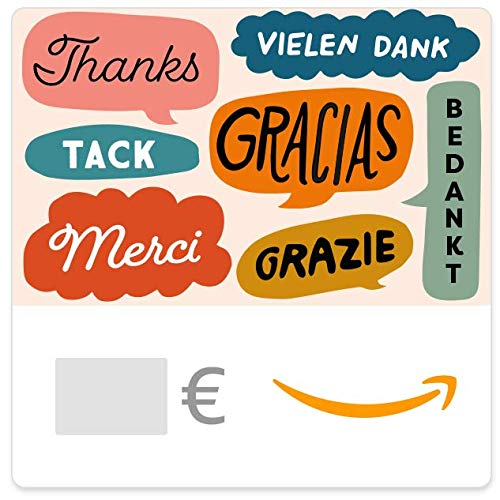 Digitaler Amazon.de Gutschein (Danke Multilingual)