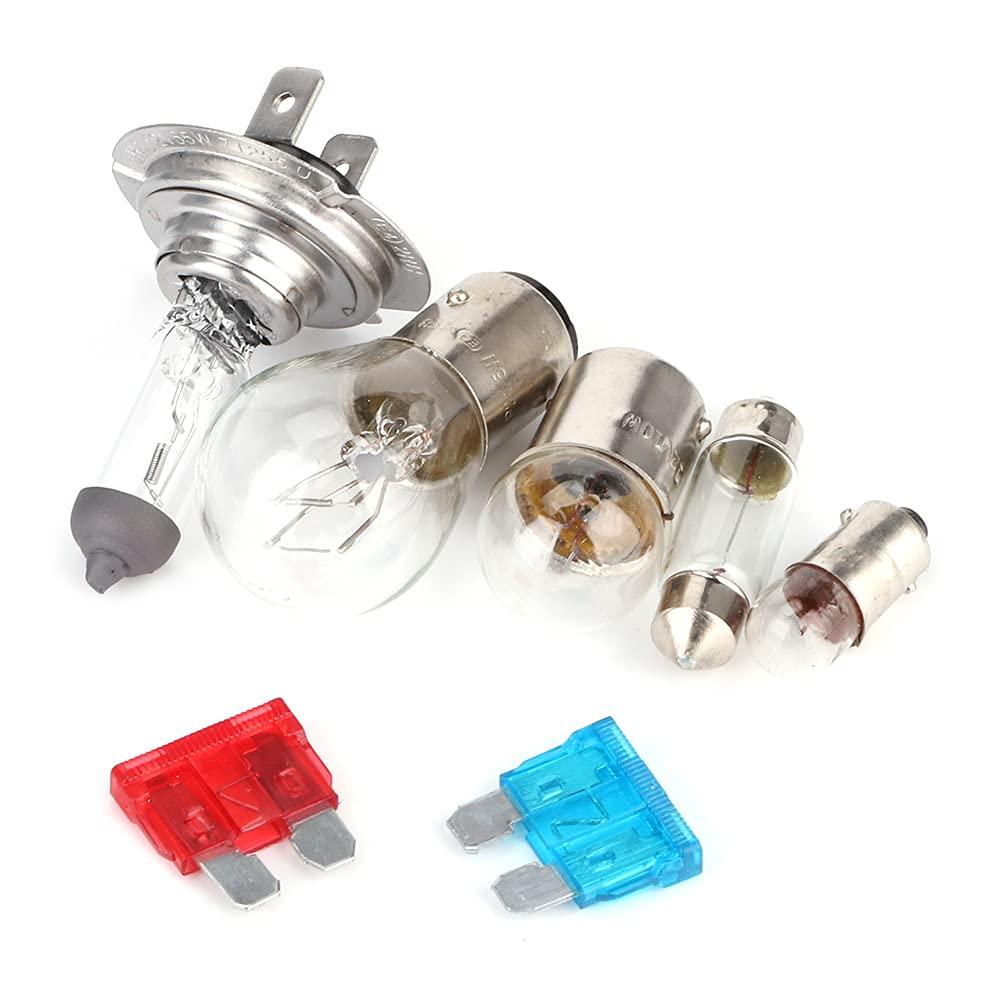 Halogen Light Bulb+Fuse Manufacturer OFFicial shop Kit Made Aluminum of H7 12V Super Special SALE held Bulbs