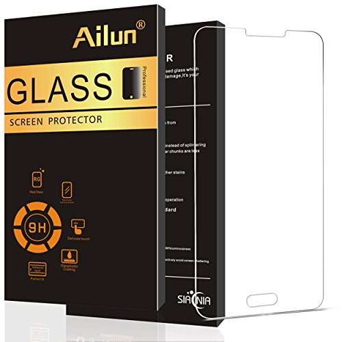 Ailun Screen Protector Compatible Galaxy Note 3 Premium Tempered Glass 2.5D Edge Ultra Clear Anti Scratch Case Friendly Siania Retail Package