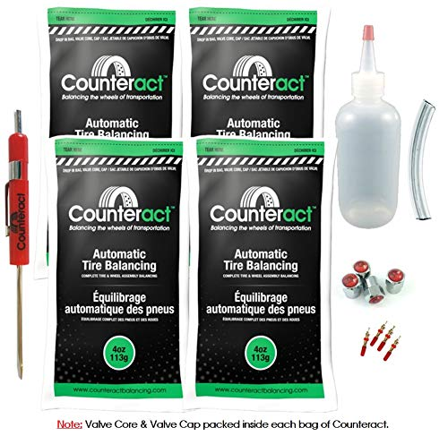 Counteract DIYK-4 Tire Balancing Beads - 4oz DIY Kit (16oz)