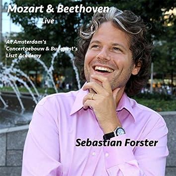 Mozart & Beethoven Live at the Concertgebouw & Liszt Academy