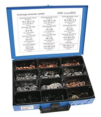 Dresselhaus 8587 Coffret en tôle à 8 compartiments