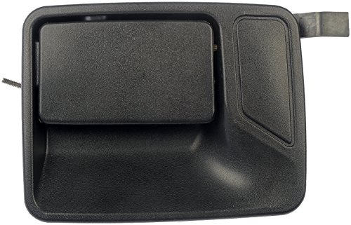 Dorman 80234 Rear Driver Side Exterior Door Handle for Select Ford Models, Textured Black (OE FIX)