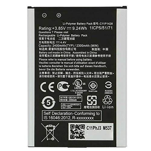 """Ellenne Batteria Compatibile con ASUS ZENFONE 2 Laser 5.0"""" ZE500KL C11P1428 Alta capacità 2400MAH con Kit SMONTAGGIO Incluso"""
