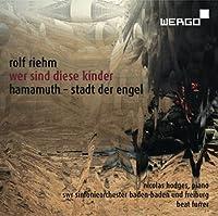Riehm: Wer sind diese kinder by Nicholas Hodges (2013-11-12)