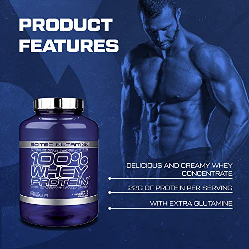 Scitec Nutrition Whey Protein Vanille, 1er Pack (1 x 920 g) - 2