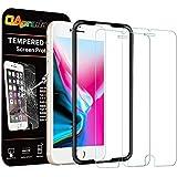 OAproda iPhone 8 / 7 / 6 / 6s ガラスフィルム 液晶保護強化ガラス 2枚セット ガイド枠付き 4.7インチ