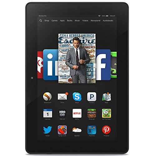 Fire HDX 8.9 Tablet, 8.9' HDX Display, Wi-Fi, 16 GB - Includes Special Offers