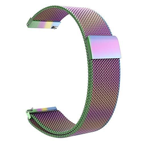 Correas para Relojes de Hombre 18 mm 20 mm 22 mm correa de bucle de correas de reloj universal inteligente del reloj la correa del metal del acero inoxidable de la banda de reloj de Men & Women reloje