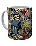GB Eye Ltd, Doctor Who, Comic Books, Tazza