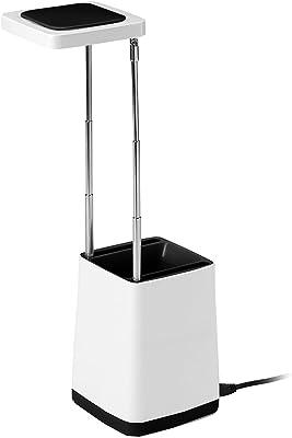 Mathias 3481172lámpara de escritorio USB Top plástico 2,5W blanco/negro 9x 31cm
