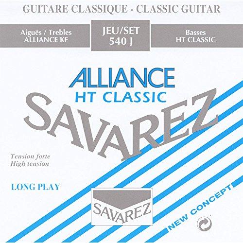 Savarez 540J Saiten für Klassikgitarre Alliance HT Classic 540J Satz High Tension blau