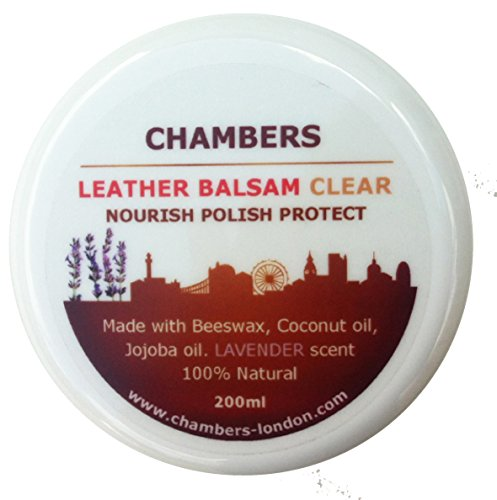 Chambers Leather, balsamo naturale, 200ml, Transparent, 200ml