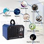 Sailnovo Générateur d'Ozone 6000mg/h Commercial Purificateur d'air Industriel Désodorisant Stérilisateur #1