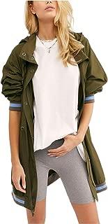 Free People Wind Swept Long Jacket Dark Green Size X-Small