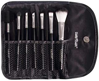 Kit com 07 pincéis para maquiagem - KP1-3E, Macrilan