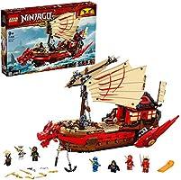 LEGO NINJAGO Legacy Destiny's Bounty 71705 ninjaspeelset bouwset met ninja actiefiguren (1.781 onderdelen)