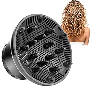 Hair Care products Hair Dryer Diffuser Attachment,Universal Hair Diffuser Adaptable for Curly and Natural