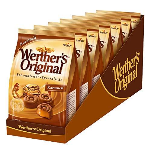 Werther's Original Karamell (7 x 153g) / Schokolade mit cremigem Karamell