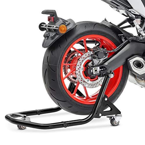 Cavalletto Sposta Moto Posteriore Alzamoto Mobile Constands XB2 L nero