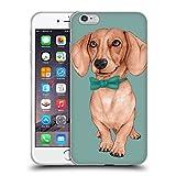 Head Case Designs Licenciado Oficialmente Barruf Salchicha, La Salchicha Perros Carcasa de Gel de Silicona Compatible con Apple iPhone 6 Plus/iPhone 6s Plus