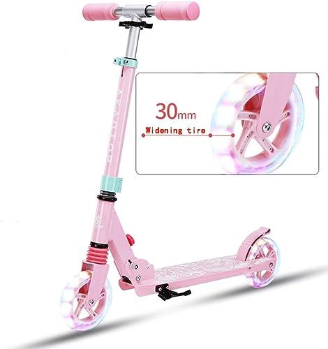 Lernspielzeug Roller, Erwachsene ZWeißadroller, die Campus-Werkzeug-Roller-Aluminiumlegierung Falten 06.03 (Farbe   B)