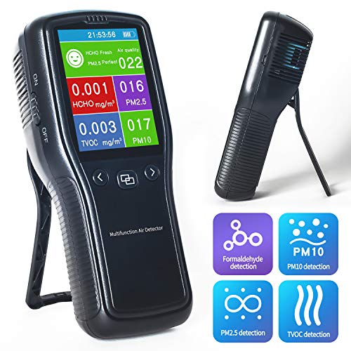 Great Features Of Multifunctional Air Quality Tester,Sherry Air Quality Monitor, Indoor Formaldehyde...