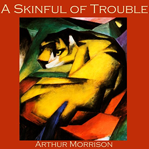 A Skinful of Trouble audiobook cover art