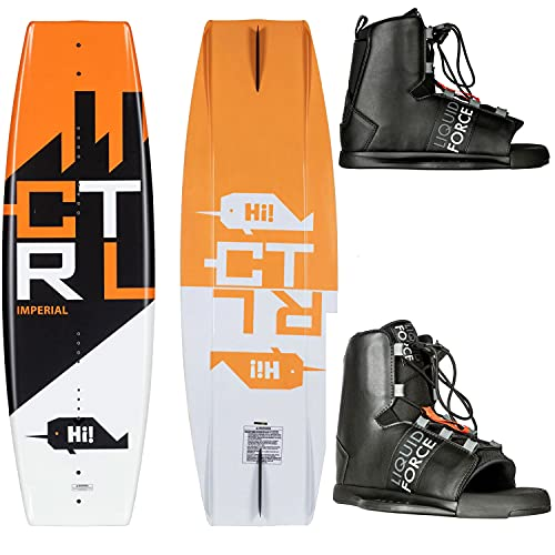 CTRL Imperial Wakeboard 136cm + Liquid Force Element Bindings Mens Sz 8-12