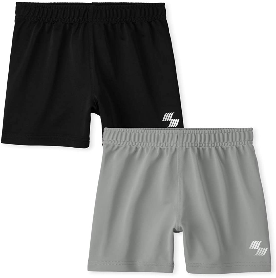The Children's Place Baby Boys' Active Shorts, Pack of Two