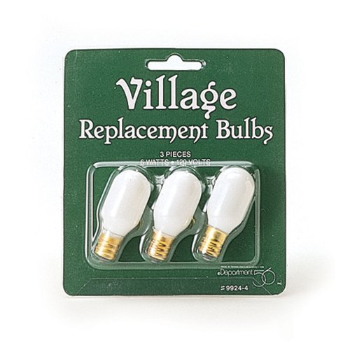 Department 56 Accessories for Villages Replacement Light Bulb Accessory