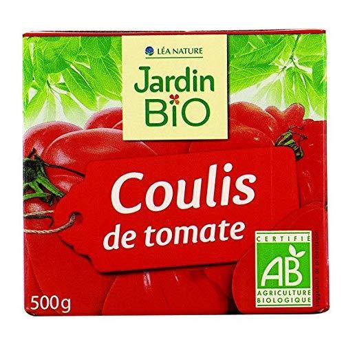 Jardin Bio - Coulis De Tomate Bio - La Brique De 500G - Tarif Dégressif - Option Cadeau