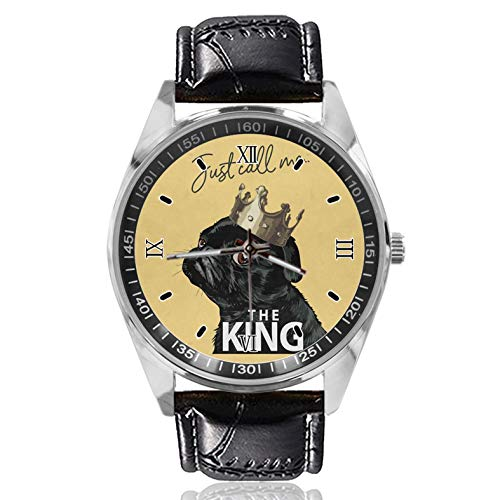Just Call Me King - Reloj deportivo para mujer, diseño simple y...