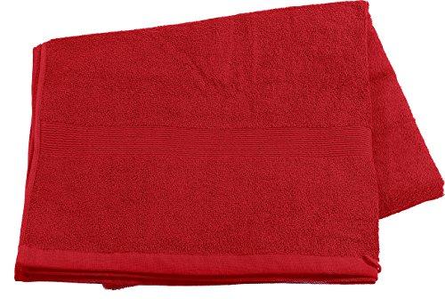 Wilson Gabor Mini Strandtücher: Saunatuch aus Baumwoll-Frottee 220x90, rot (Badetücher)